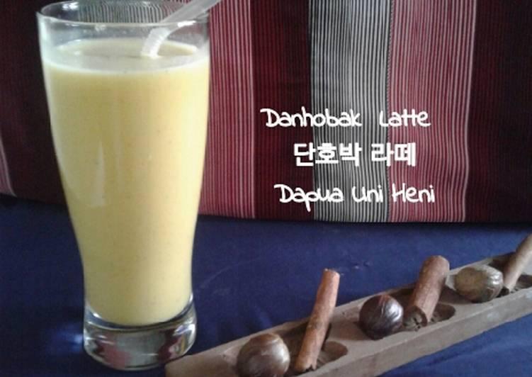 Resep Danhobak Latte Korean Pumpkin Latte
