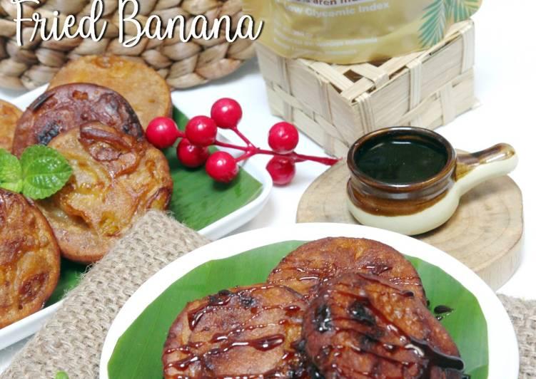 Resep Pisang goreng palm sugar