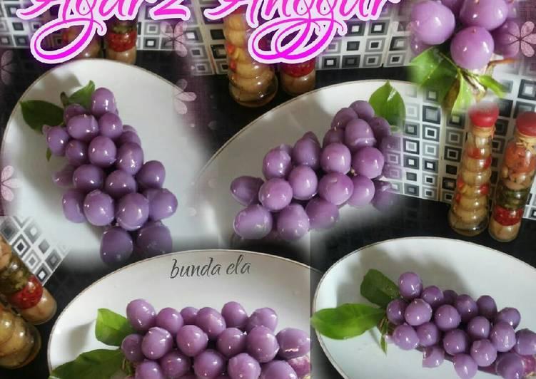 Resep Agar-agar Anggur