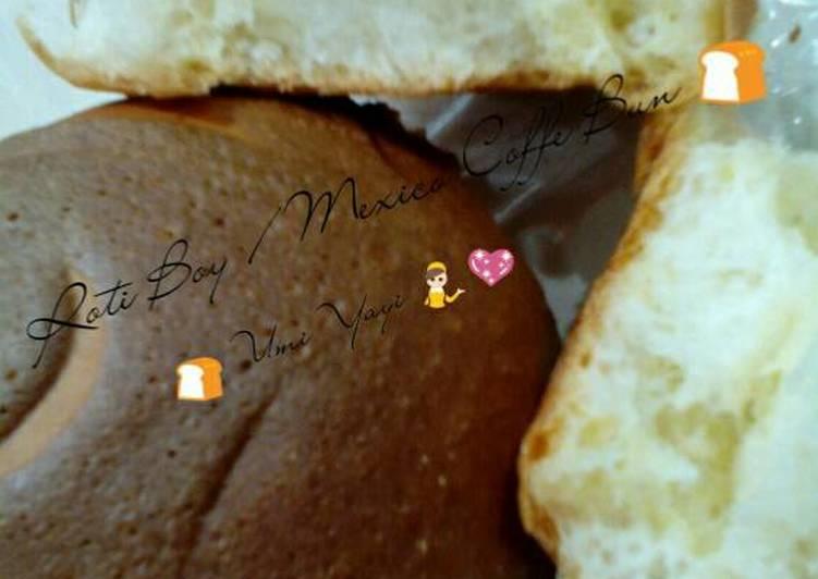 Resep Roti Boy / Mexico Coffe Bun