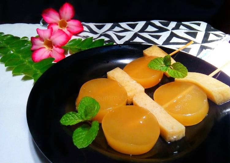 Resep Puding Santan Gula Merah (Snack MPASI 1y+*)