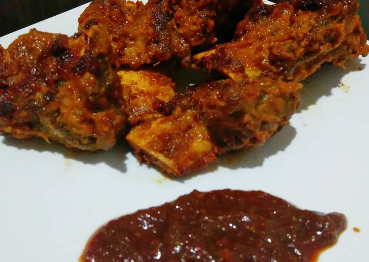 Resep Roasted Beef Ribs with Milk Coconut -Original Recipe by me-