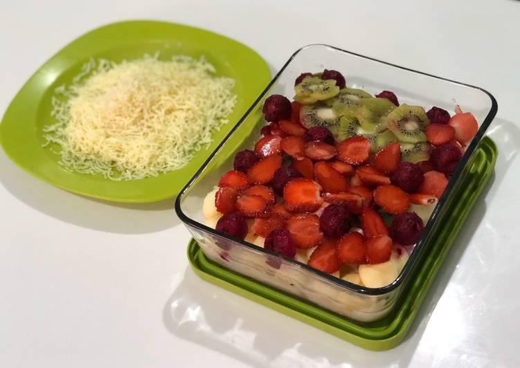 Resep Mix Fruits Salad #WeekendChallenge