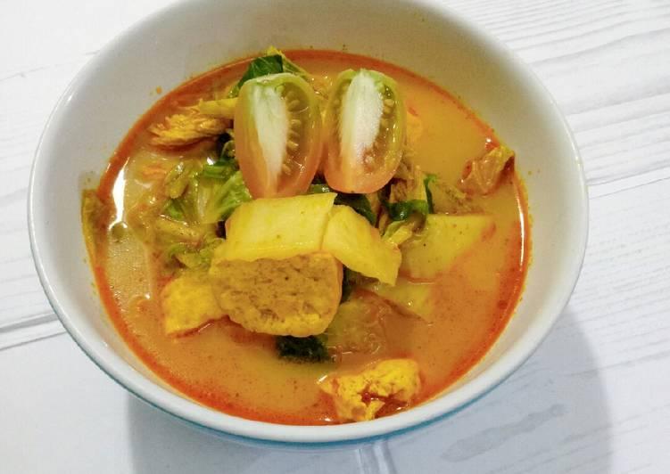 Resep Lontong kari indofood