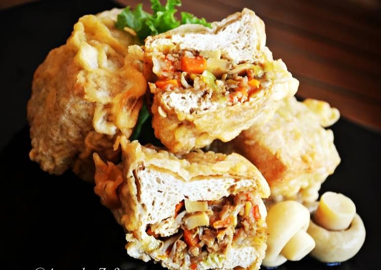 Resep Tahu Isi Ayam Jamur Pedas