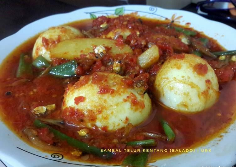 Resep Sambal Telur Kentang (Balado)