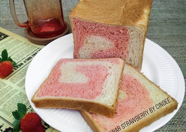 Resep Roti Tawar Strawberry