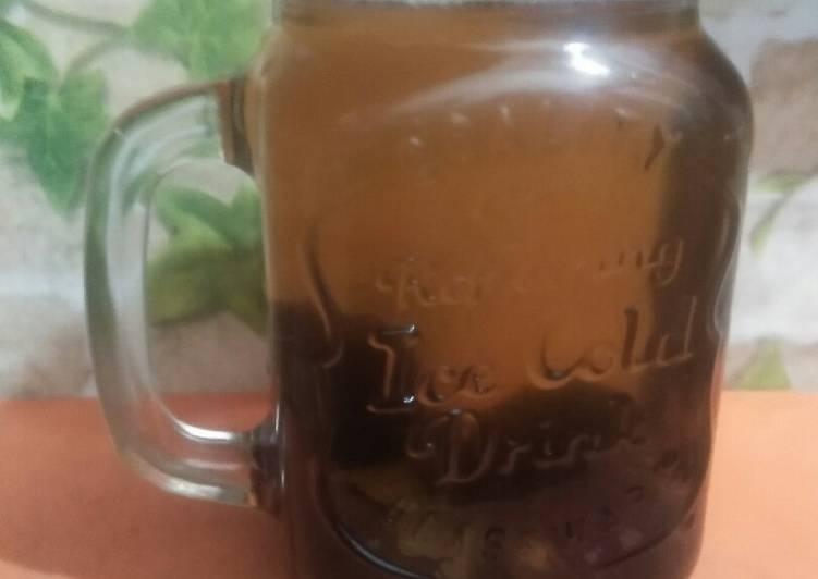 Resep Air nabeez(infused water) kurma