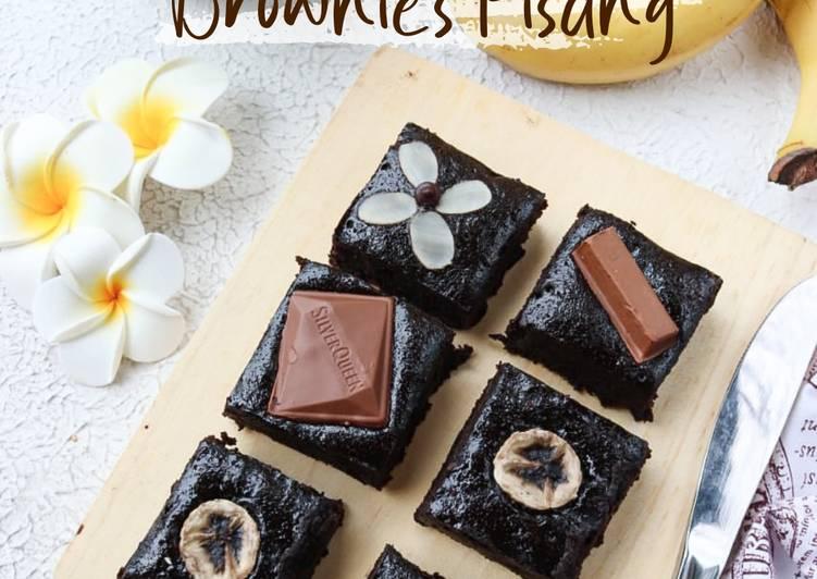 Resep Brownies Pisang Gluten Free