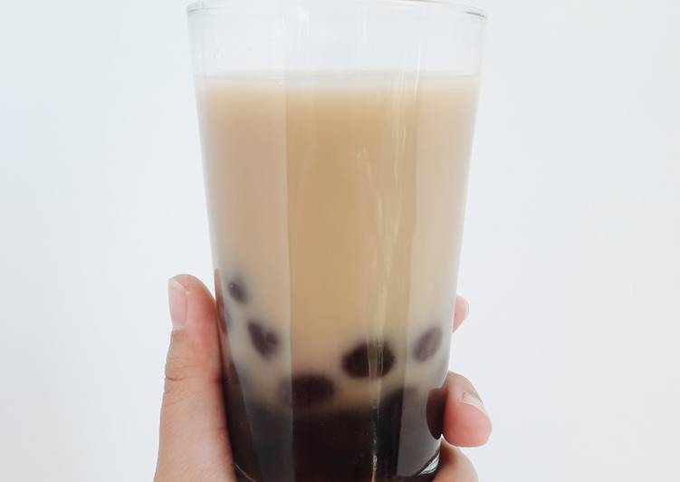 Resep Boba Milk Tea