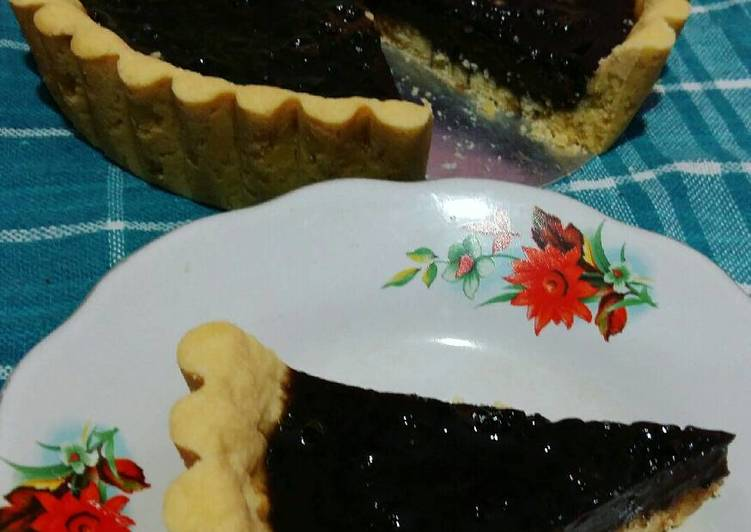 Resep Pie susu coklat