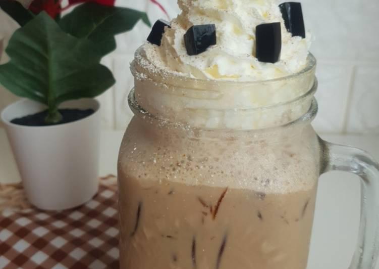 Resep Hazelnut Latte CINCAU
