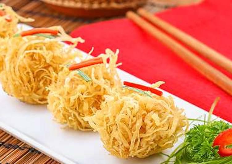 Resep Bakso Ayam Rambutan