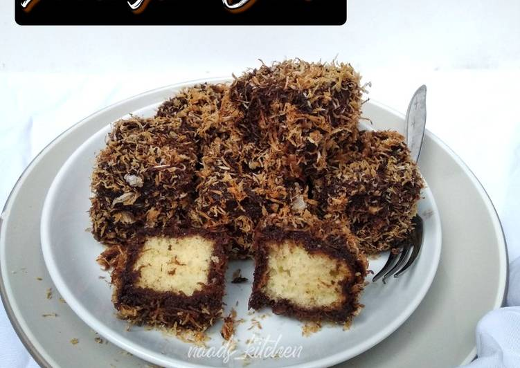 Resep Lamington cake