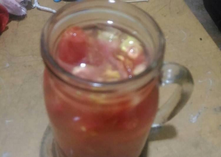 Resep Es Tomat