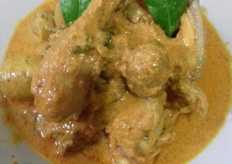 Resep Gulai Ayam n Baby Potatoes