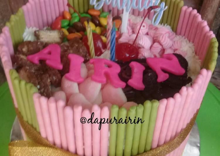 Resep Kue ulang tahun Pocky