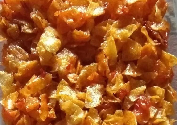 Resep Keripik kentang