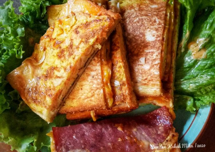 Resep Korean Street Toast (To Se Te)