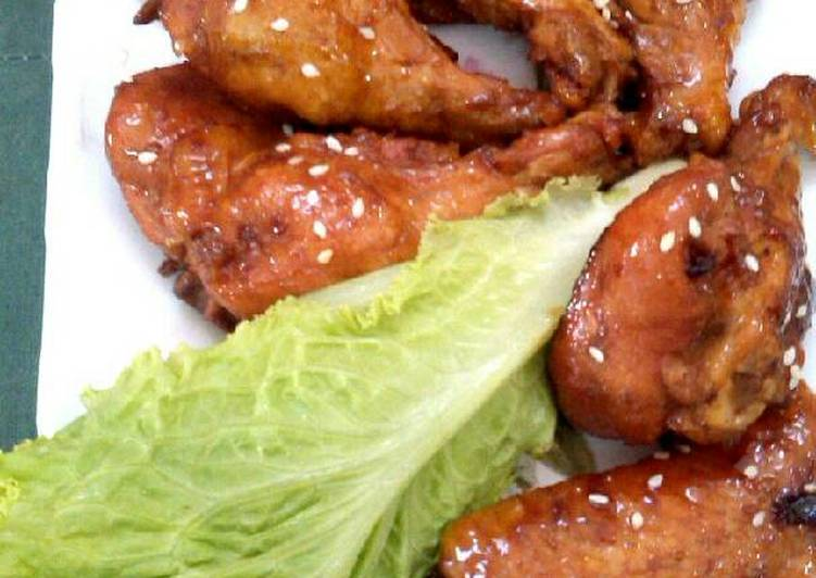 Resep Sayap ayam saos barbeque