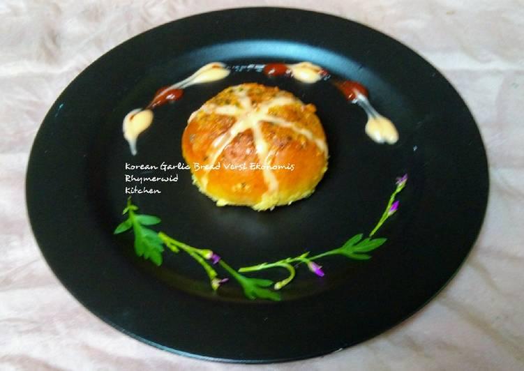 Resep Korean Garlic Bread versi Ekonomis
