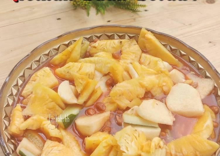 Resep Asinan Buah Betawi (3 buah)