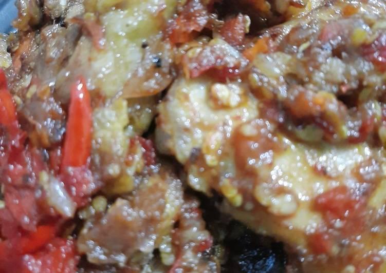 Resep Ayam Masak Dendeng