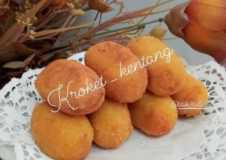 Resep Kroket_Kentang