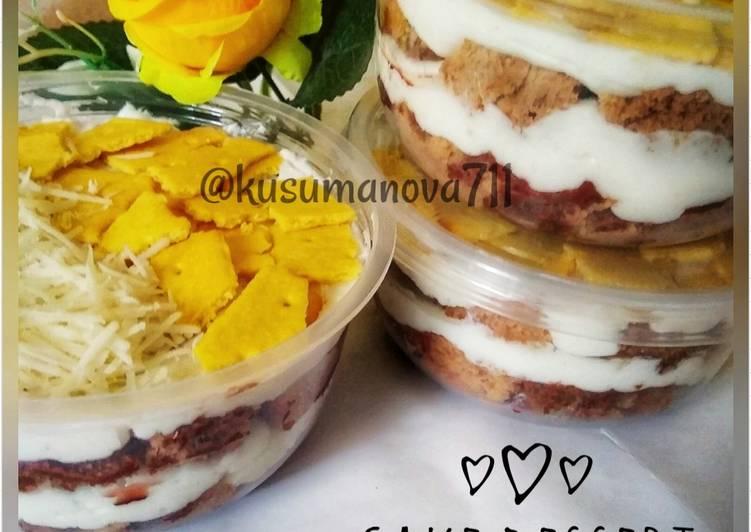 Resep Cake Dessert Bowl