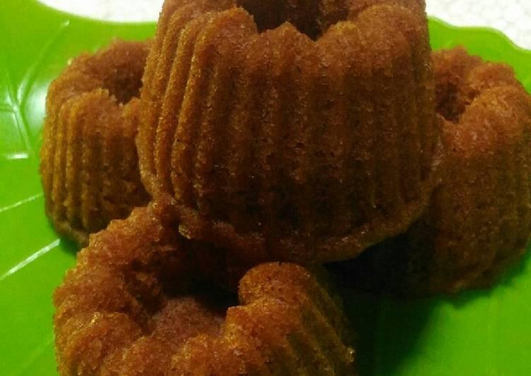 Resep Bolu sakura/karamel kukus