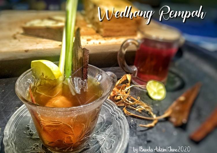 Resep Wedhang rempah