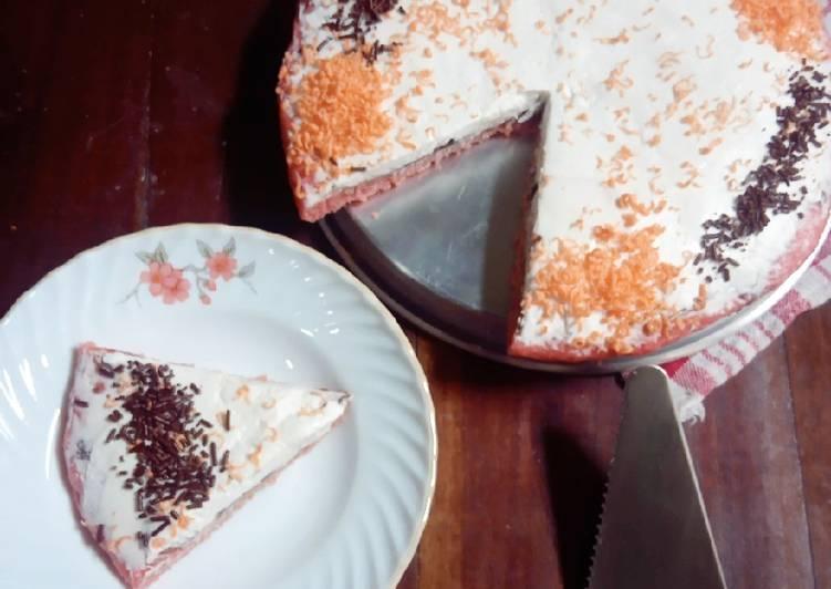 Resep Pizza Singkong Teflon (eggless)