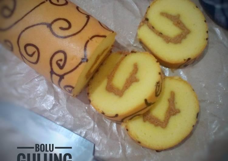 Resep Bolu Gulung / Roll Cake Asli Ekonomis