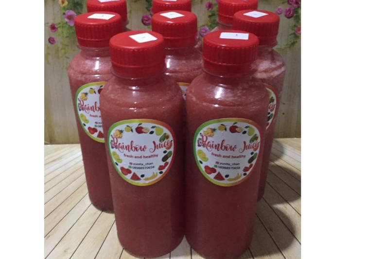 Resep Diet Juice Longan Papaya Blackberry Raspberry