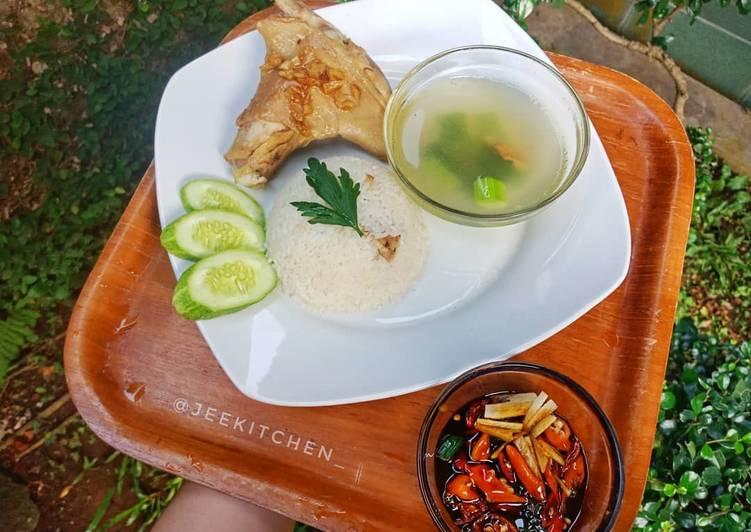 Resep Ayam Pek Cam Kee - Hainan Chicken