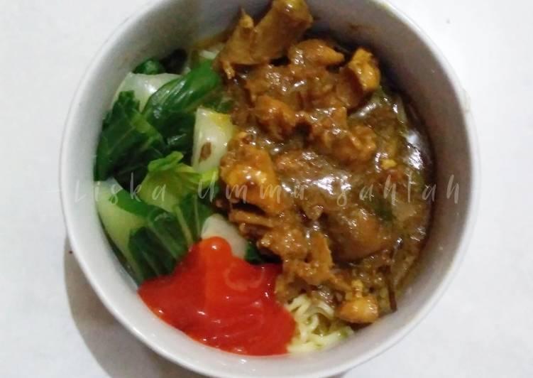 Resep Mie Ayam Home Made