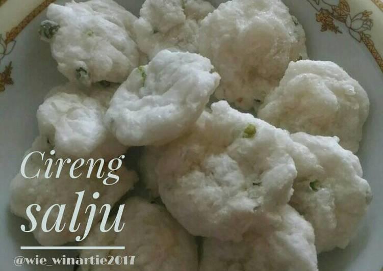 Resep Cireng salju