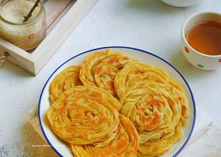 Resep Roti Cane/Roti Maryam