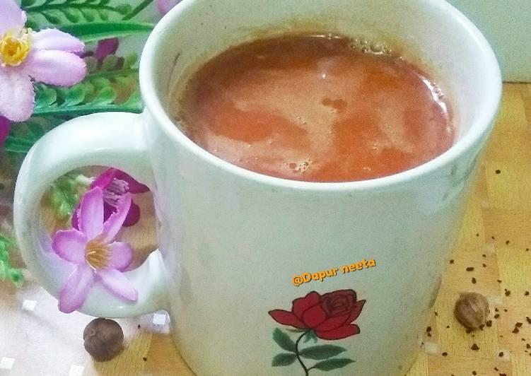 Resep Karak Tea caramel