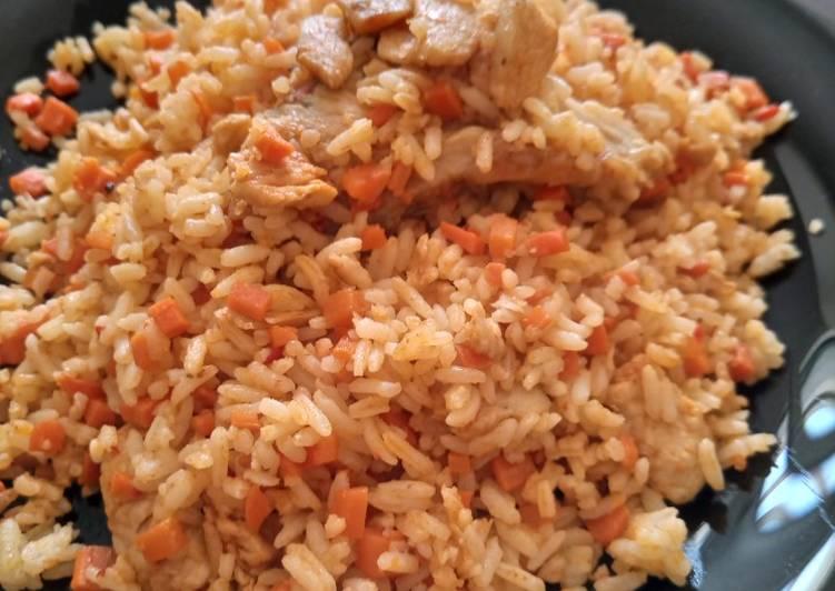 Resep Nasi goreng bumbu merah