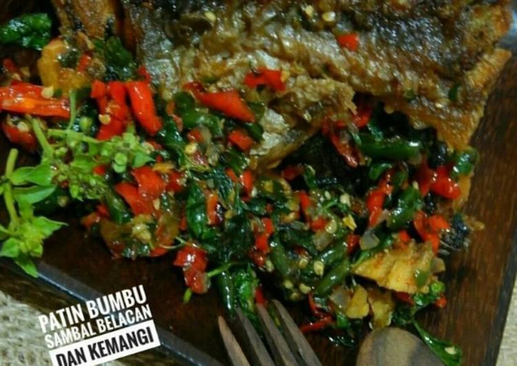 Resep Patin bumbu sambal belacan dan kemangi