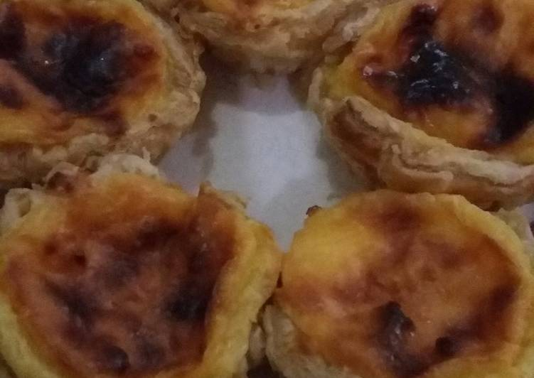 Resep Egg tart portugis