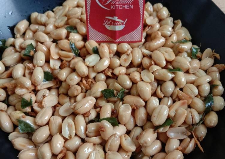 Resep Kacang Bawang Daun Jeruk