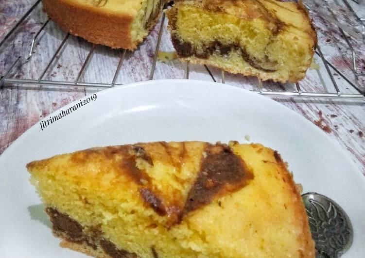 Resep Marbel Cake