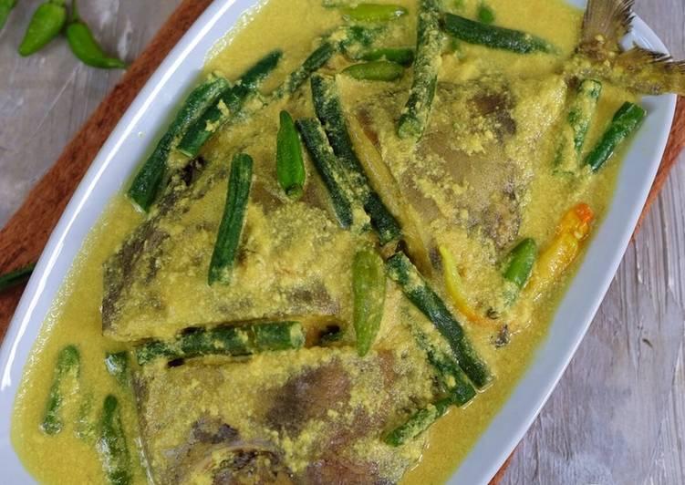 Resep Gulai ikan kuning
