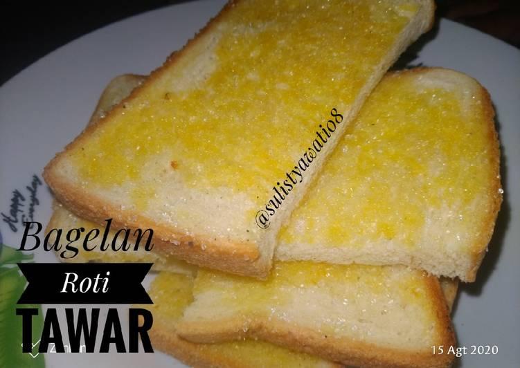 Resep Bagelan Roti Tawar