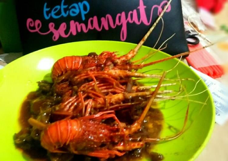 Resep #1Asam manis lobster