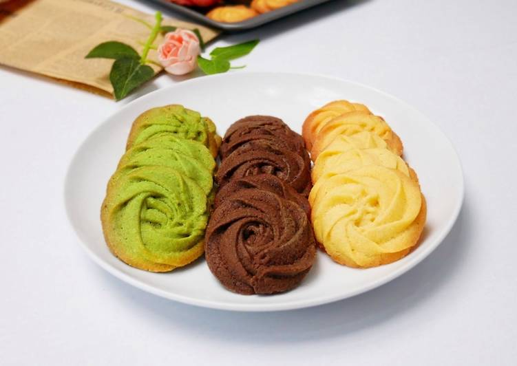 Resep Kue Kering / Kue Semprit