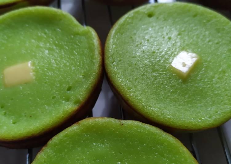 Resep Kue lumpur pandan keju