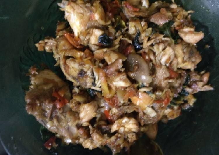 Resep Ayam Jerit Pedas Kemangi